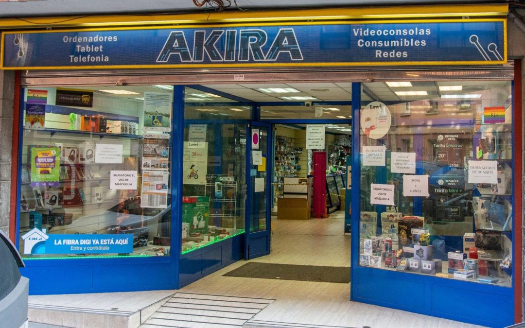 Praktikak Akira Games enpresan